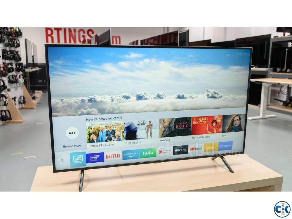SAMSUNG 43 RU7100 4K UHD Smart LED TV | ClickBD large image 0