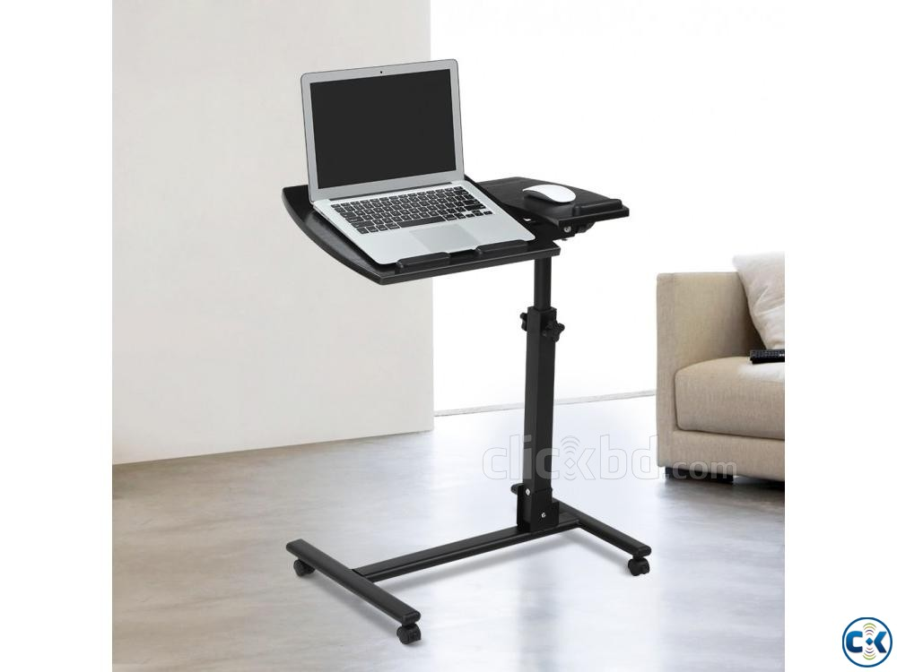 Adjustable Laptop Table Laptop Desk Folding Laptop Stand | ClickBD large image 0