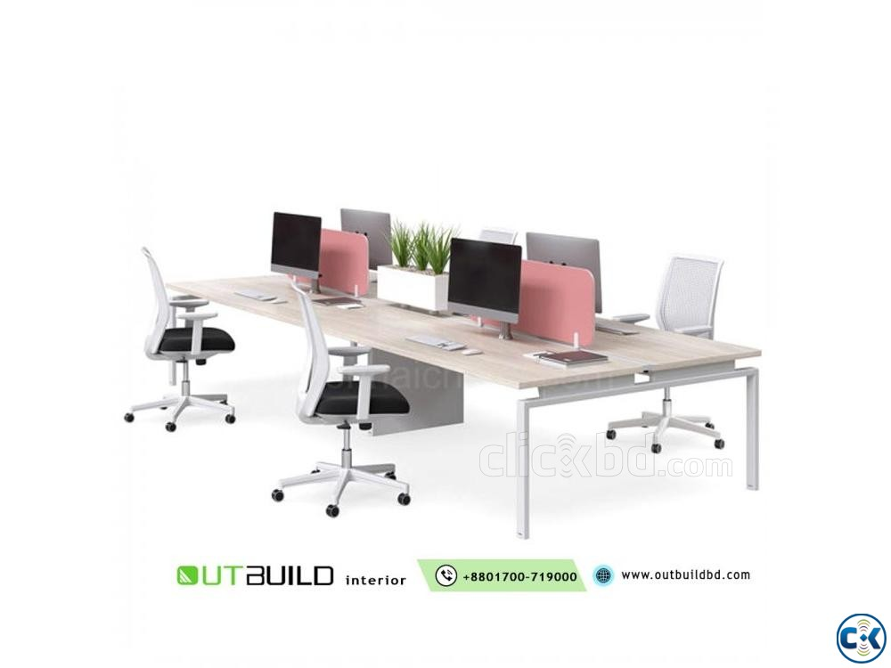 Office Workstation Desk And Furniture | ClickBD large image 2