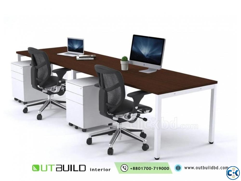 Office Workstation Desk And Furniture | ClickBD large image 3