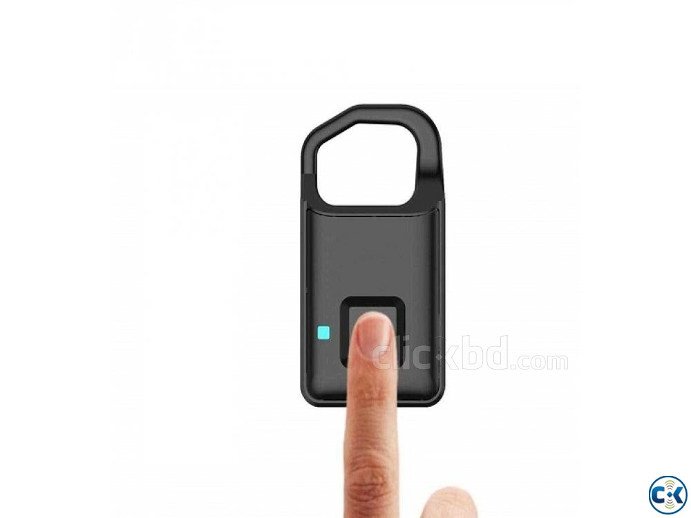 Anytek P5 Fingerprint Smart Lock Anti-theft 01611288488 | ClickBD large image 0