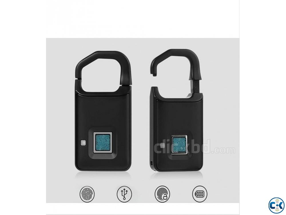 Anytek P5 Fingerprint Smart Lock Anti-theft 01611288488 | ClickBD large image 1