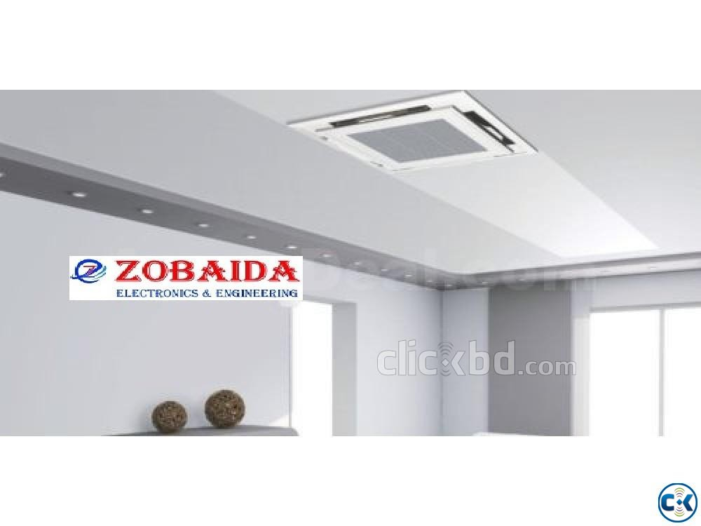 MIDEA 4.0Ton 48000 BTU Ceiling Cassette Big Winter Offer  | ClickBD large image 0