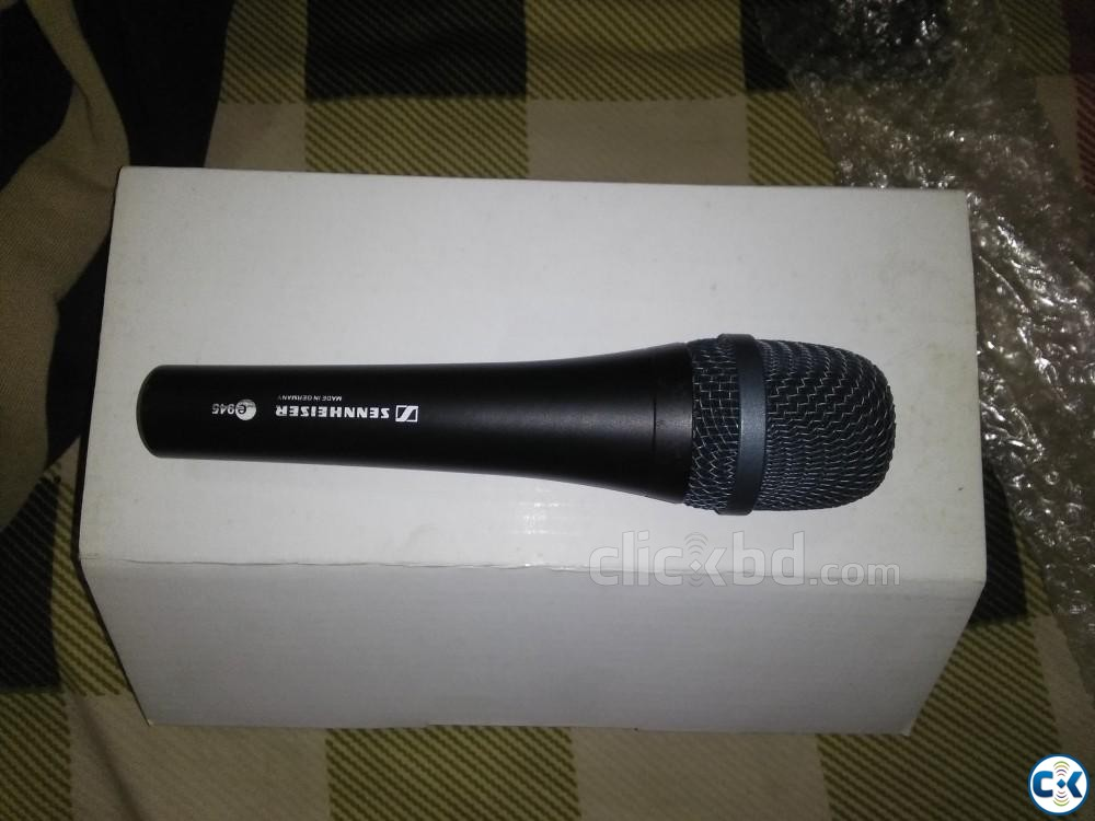 Sennheiser E945 Studio Microphone with Hercules Mic Stand | ClickBD large image 0