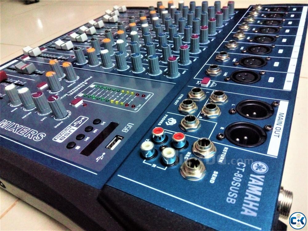 YAMAHA 8 channel Audio Mixing console 01729108371 | ClickBD large image 1