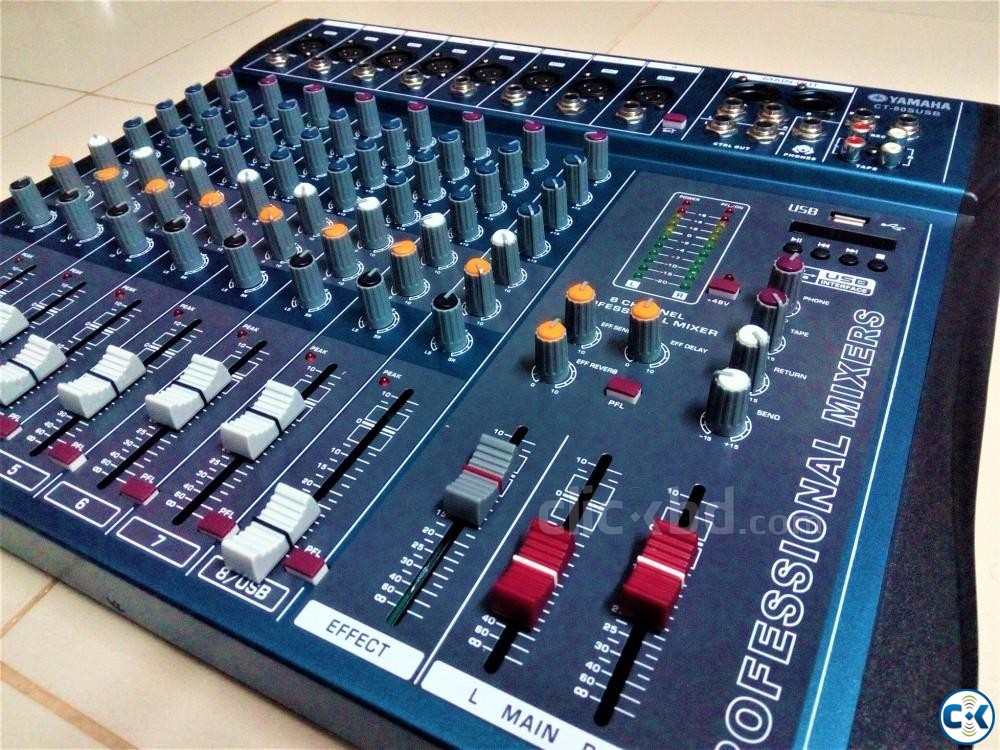 YAMAHA 8 channel Audio Mixing console 01729108371 | ClickBD large image 2