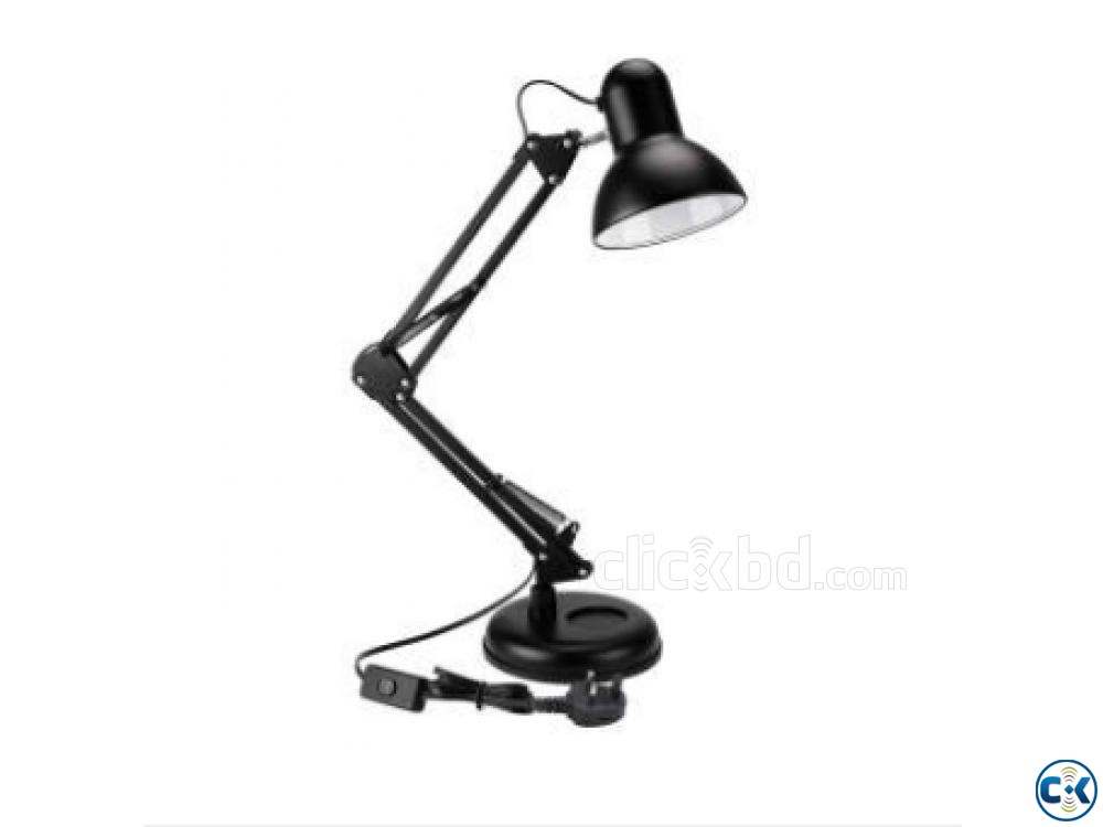 Adjustable Classic Desk Lamp Metal Body | ClickBD large image 0