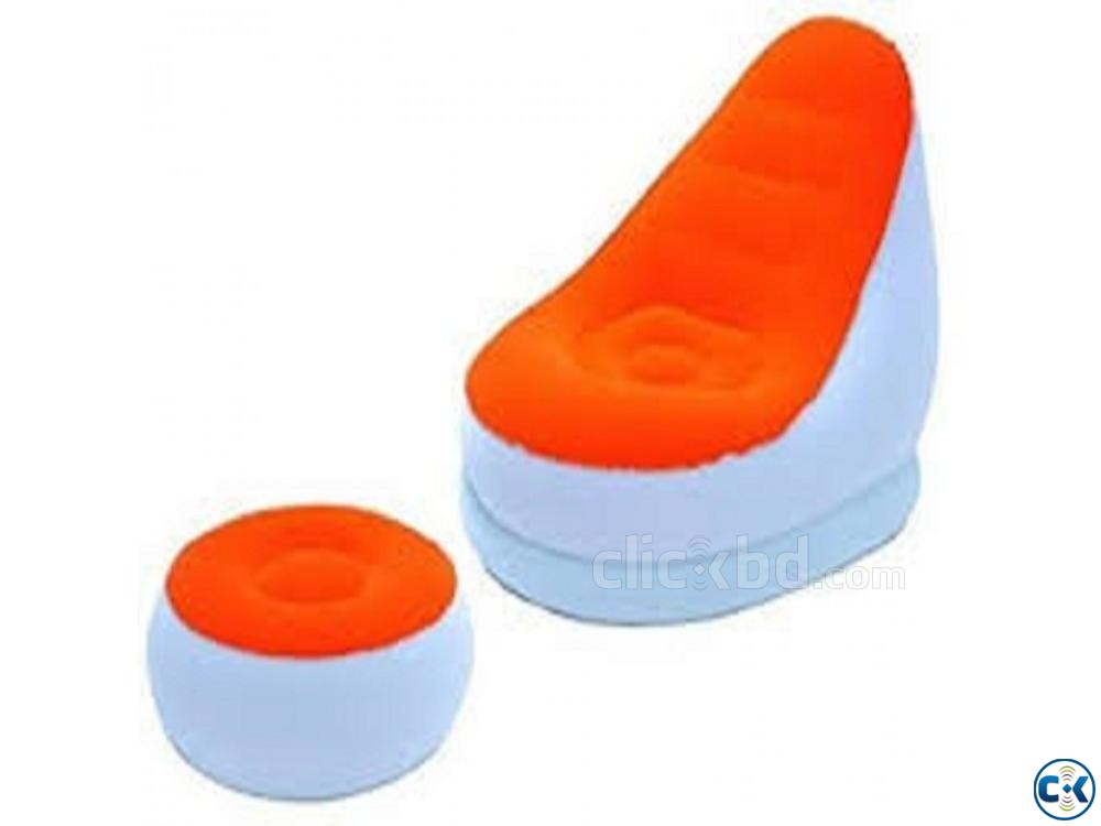 2 in 1 Air Chair And Footrest | ClickBD large image 2