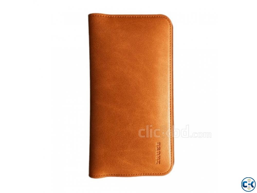 Zhuse Wallet Flip Cover For Smart Phone | ClickBD large image 2
