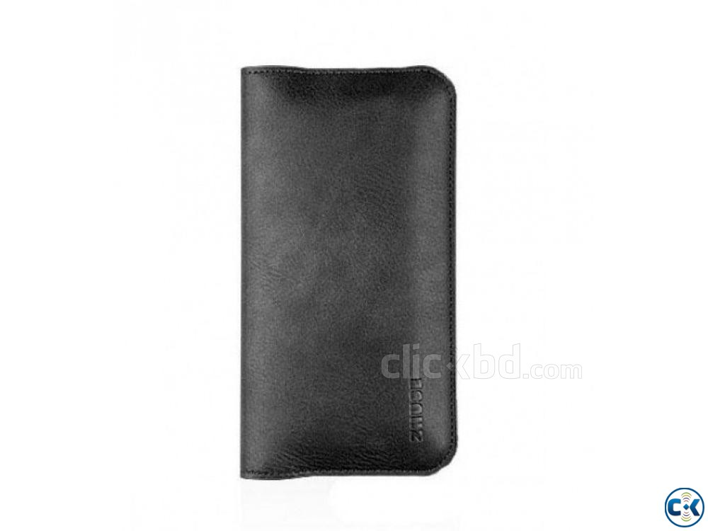 Zhuse Wallet Flip Cover For Smart Phone | ClickBD large image 3