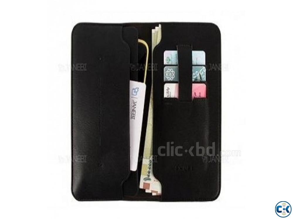 Zhuse Wallet Flip Cover For Smart Phone | ClickBD large image 4