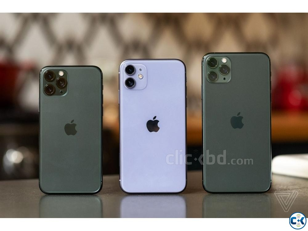 Apple iphone 11 Pro Max 64GB Green Grey Gold 4GB RAM  | ClickBD large image 0