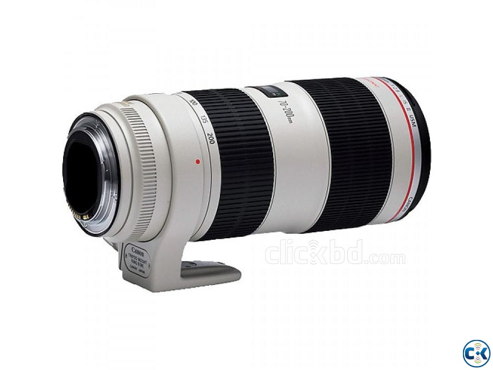 Canon EF 70-200mm f 2.8L IS II USM TelePhoto Zoom Lens | ClickBD large image 1