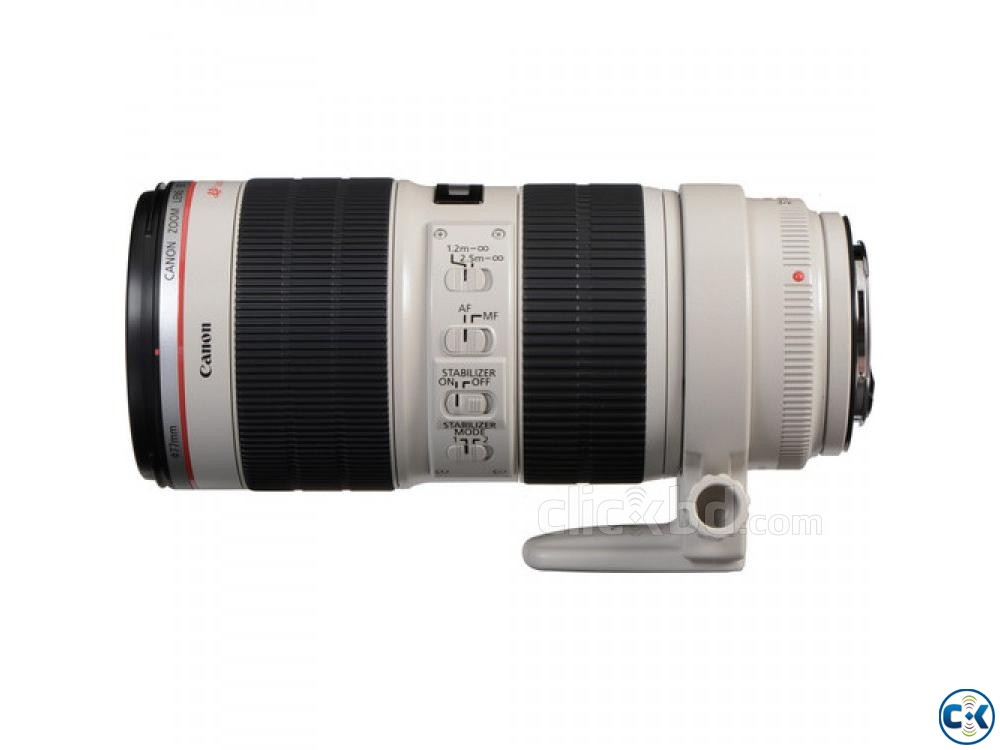 Canon EF 70-200mm f 2.8L IS II USM TelePhoto Zoom Lens | ClickBD large image 3