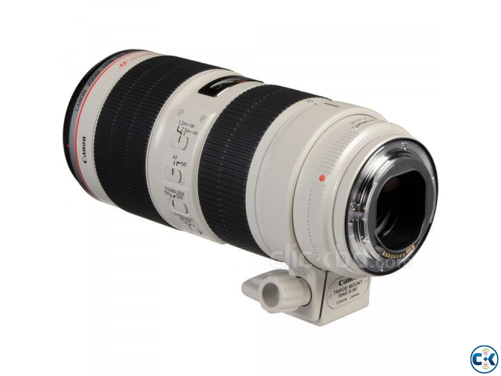 Canon EF 70-200mm f 2.8L IS II USM TelePhoto Zoom Lens | ClickBD large image 4