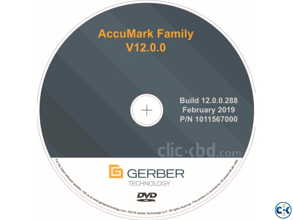 Gerber Accumark 12. With Accunest Accuplan 3d Blender Full | ClickBD large image 0