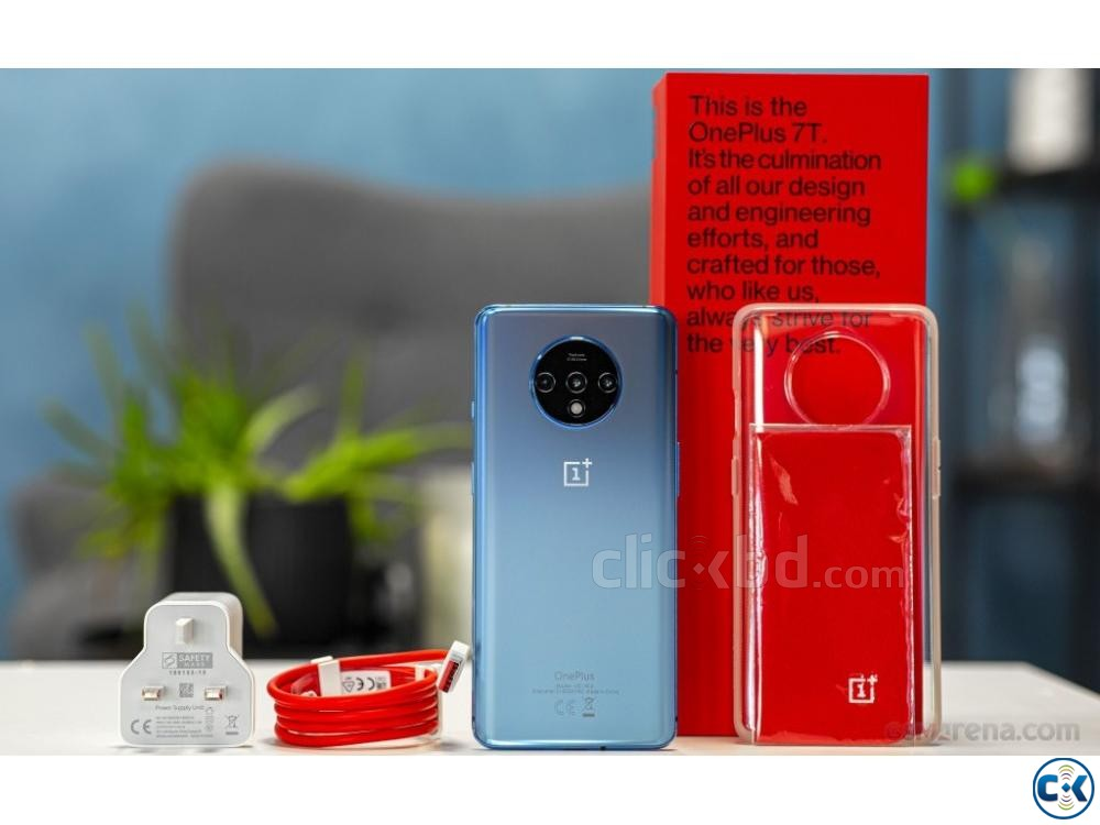 Oneplus 7T 256GB Blue Silver 8GB RAM  | ClickBD large image 2