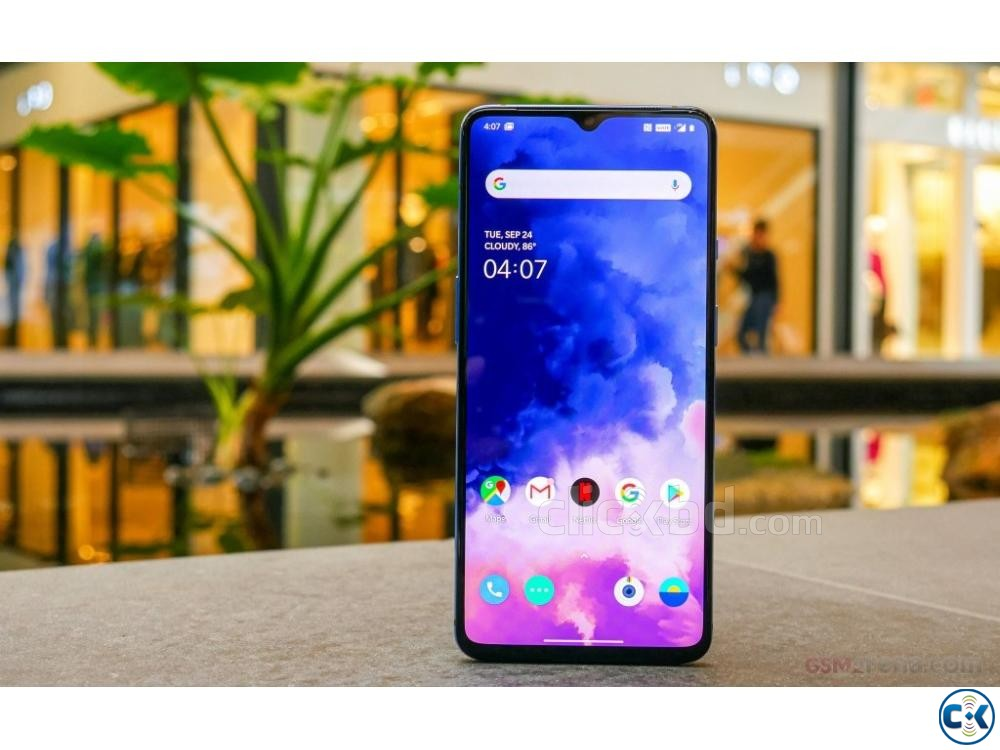 Oneplus 7T 256GB Blue Silver 8GB RAM  | ClickBD large image 4