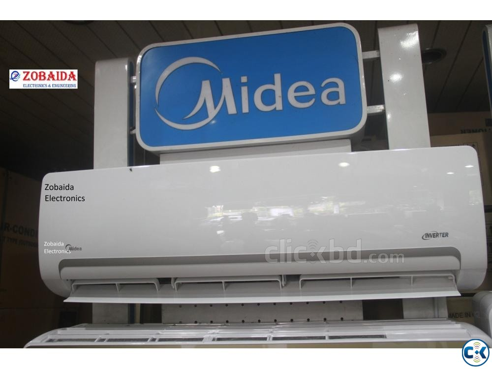 Inverte Hot Cool Midea 1.5 Ton MSM-18HRI SPLIT AC Brand New | ClickBD large image 2