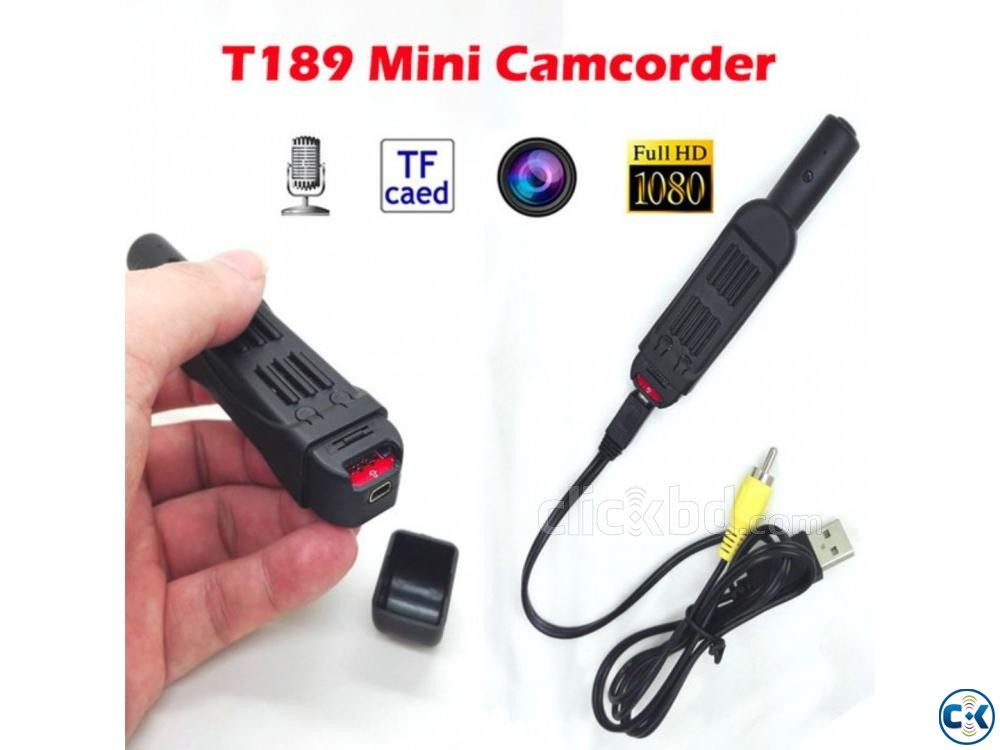 Spy Camera T189 Mini Camera Full HD 1080P | ClickBD large image 1