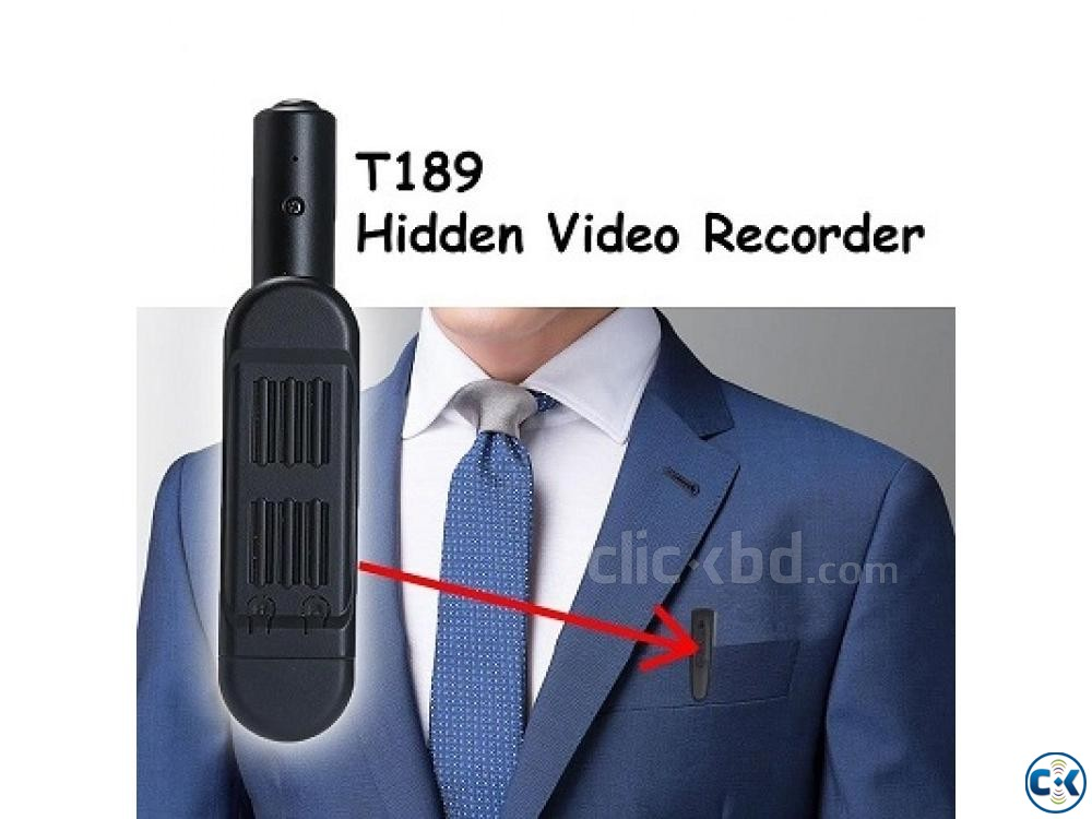 Spy Camera T189 Mini Camera Full HD 1080P | ClickBD large image 3