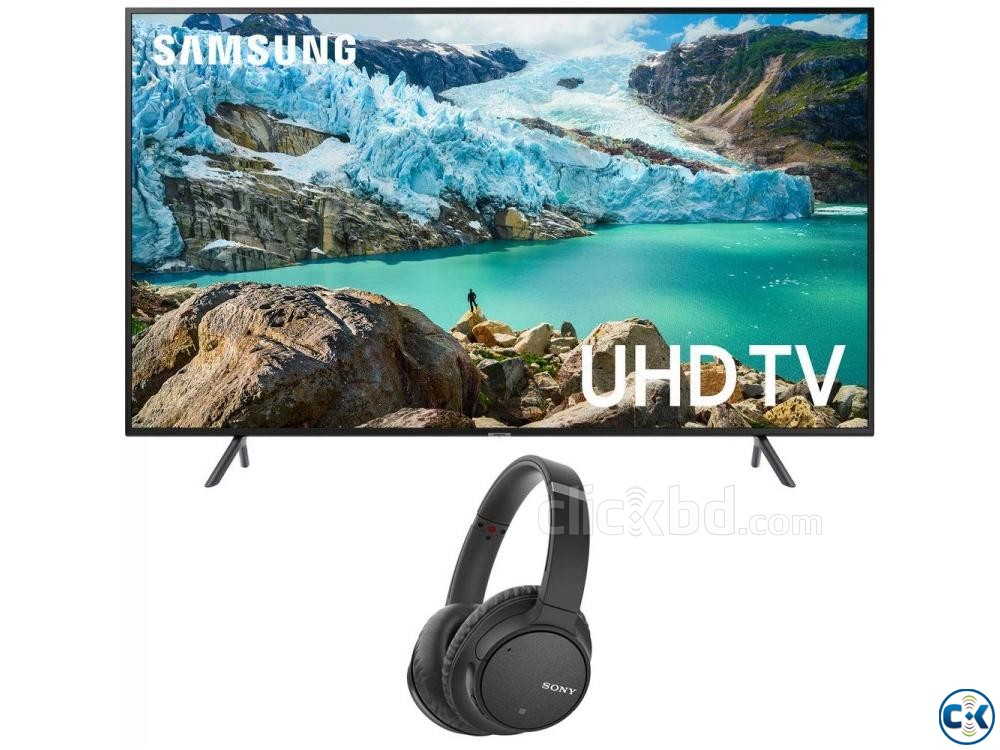 75 RU7100 Flat Smart 4K UHD TV Series 7 - Samsung | ClickBD large image 0