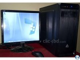 Urgent Ready 18 Monitor Desktop Computer Sell
