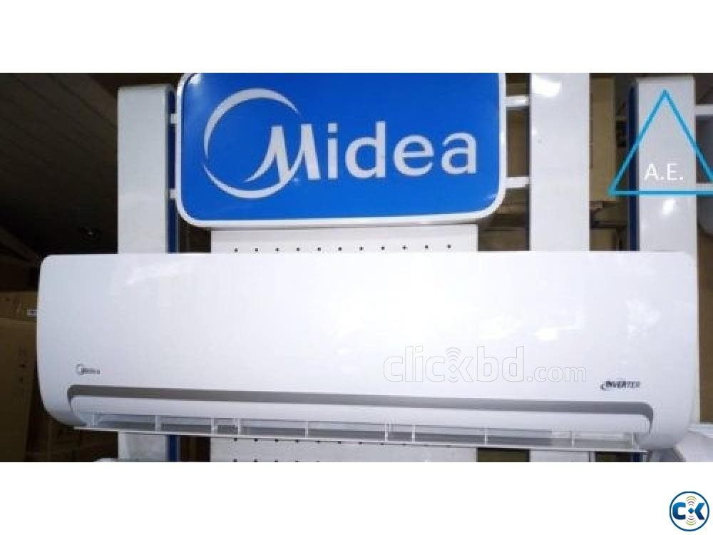 Midea Brand New intact 1.5 ton invert-er air conditioner | ClickBD large image 0