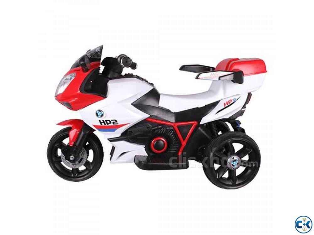 Kids ride on rechargeable motorcycle | ClickBD large image 1