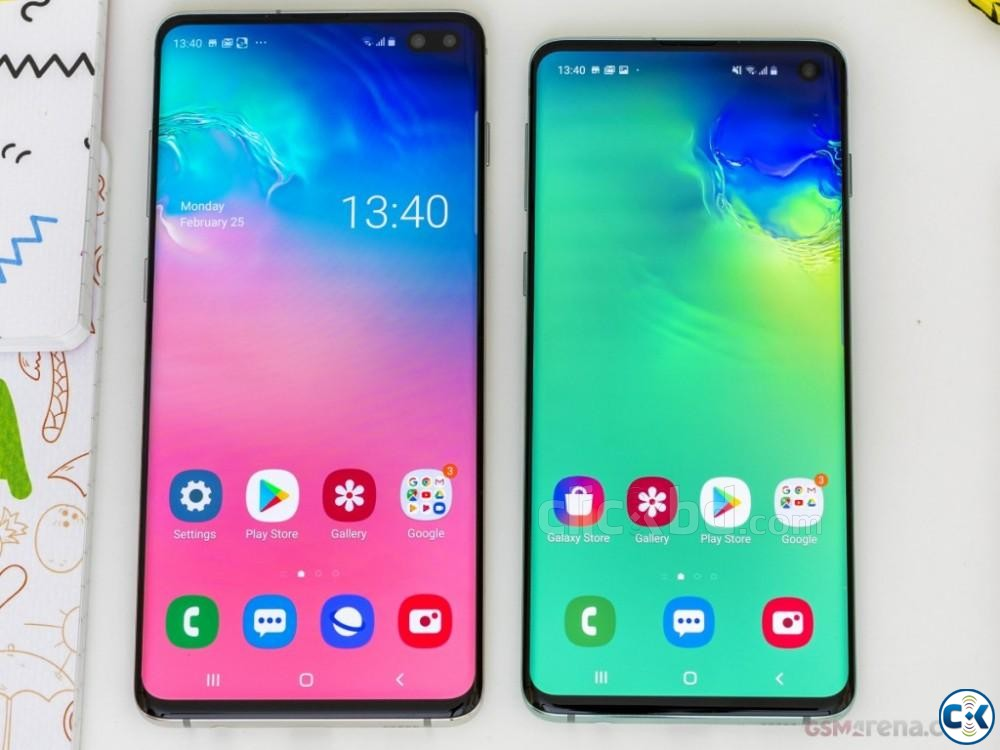 Samsung Galaxy S10 128GB Black Blue 8GB RAM  | ClickBD large image 0
