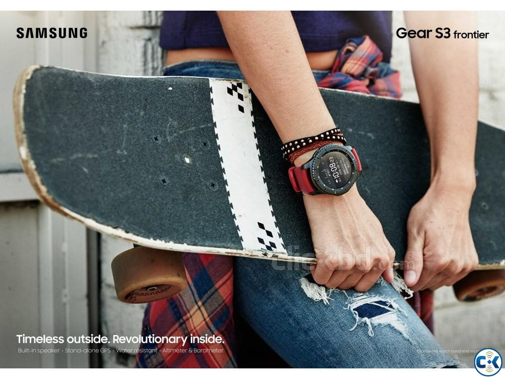 Samsung Galaxy Gear S3 Frontier | ClickBD large image 3