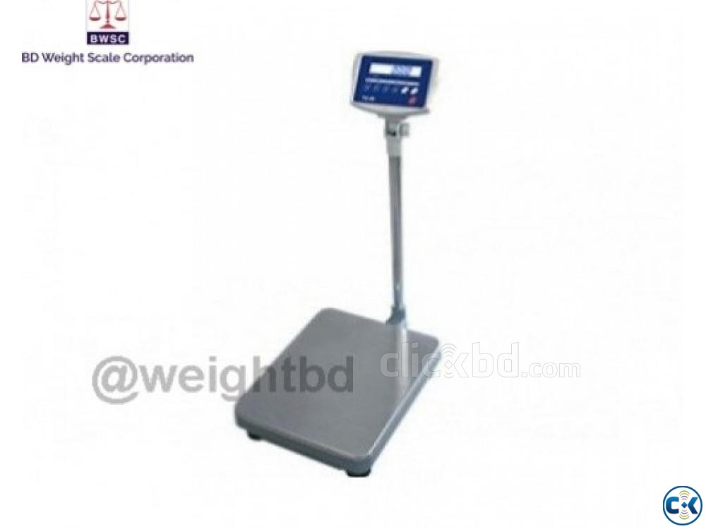 Digital Platform Scale 50g to 600kg | ClickBD large image 0