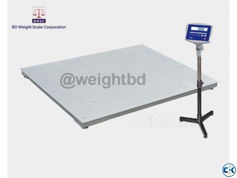 Digital Floor Scale 2 Ton | ClickBD large image 0