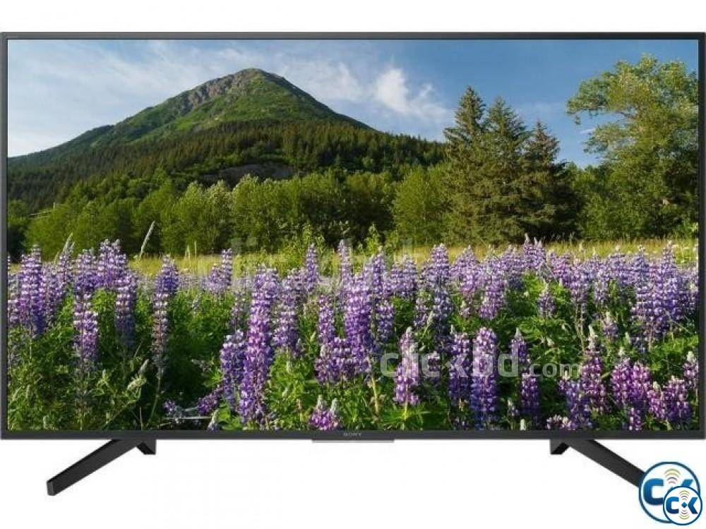 Sony Bravia 49 X7500F 4K Android HDR TV Winter Offer | ClickBD large image 1