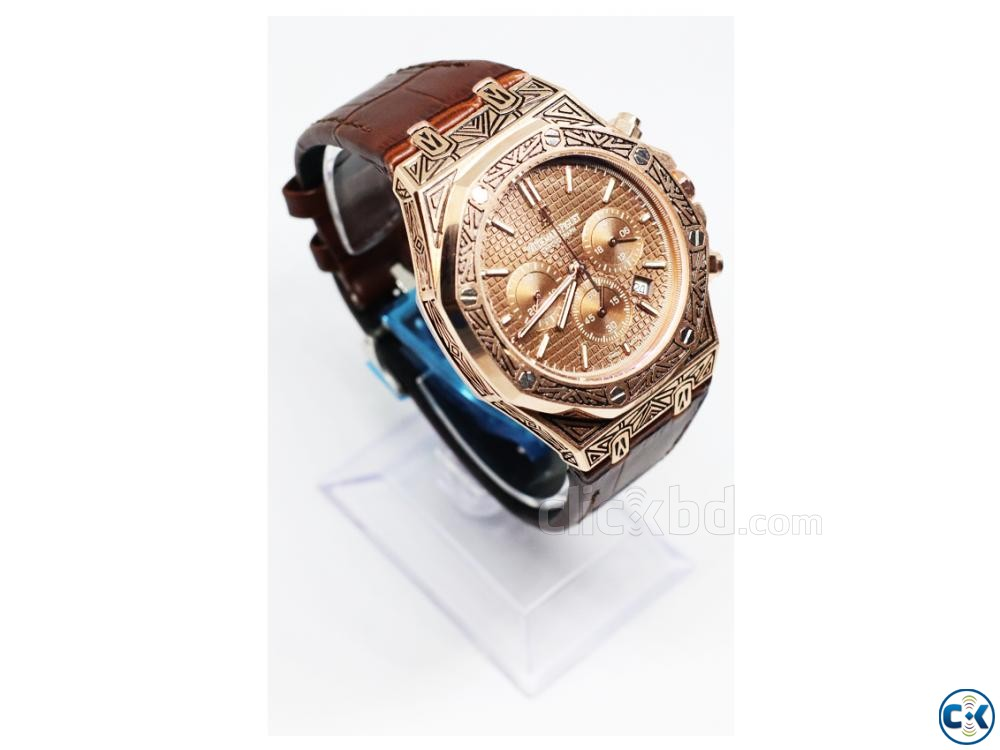 AP Chronograph Watch | ClickBD large image 4