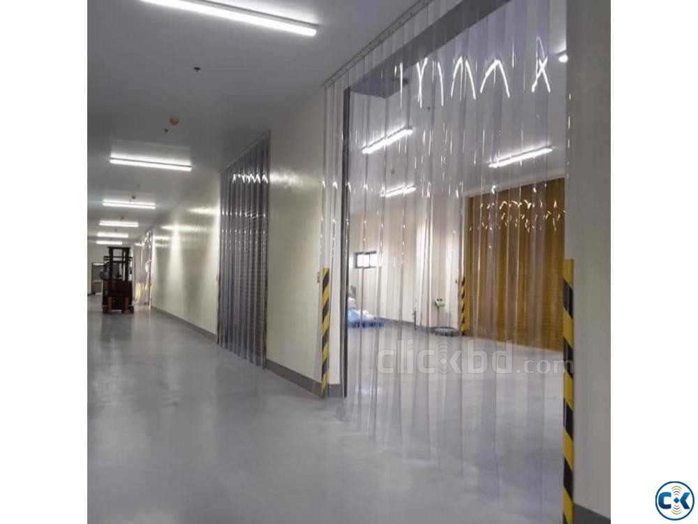 2MM 3MM PVC Strip Air Curtains Company Dhaka | ClickBD large image 1