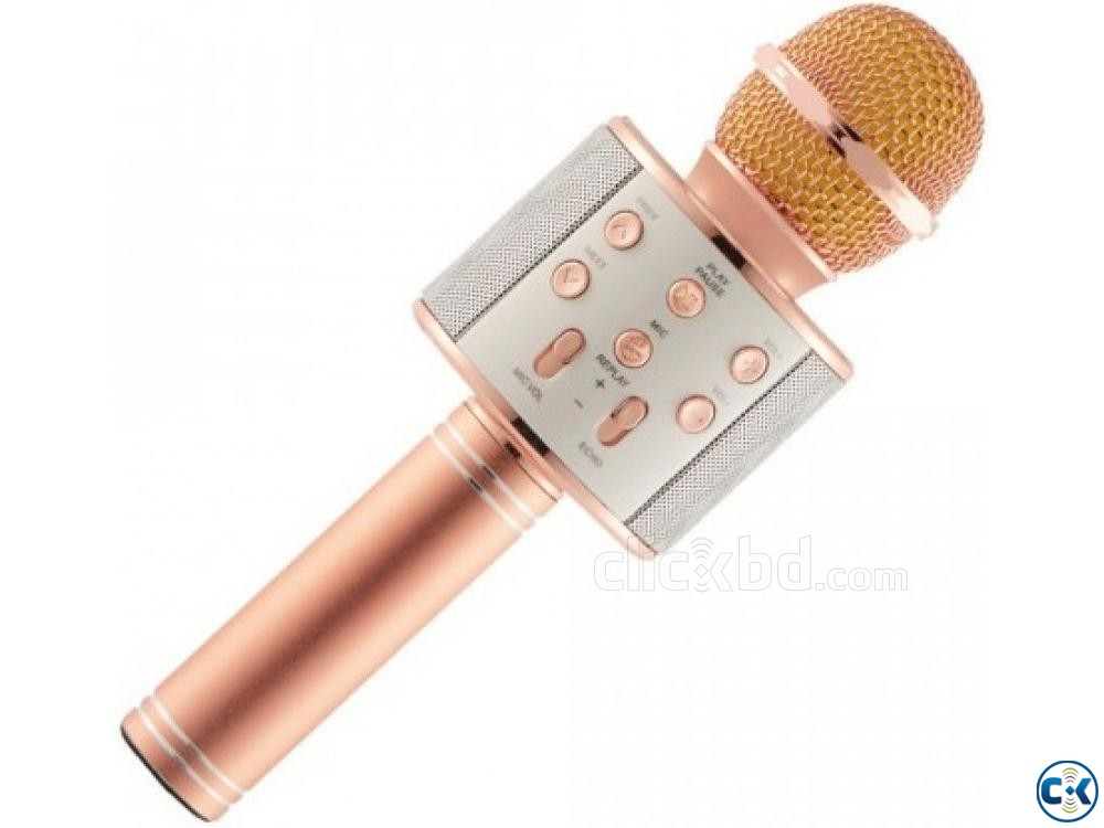Bluetooth Karaoke Microphone | ClickBD large image 0