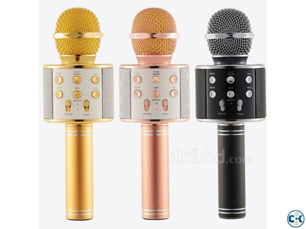 Bluetooth Karaoke Microphone | ClickBD large image 3