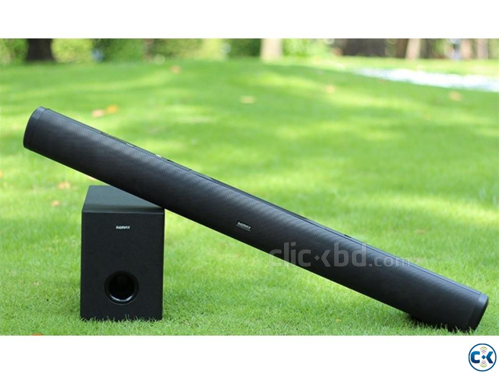 Remax RTS-10 100.Watts Remote Control Soundbar Home Theater | ClickBD large image 1