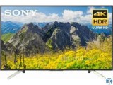 KD-43X7000F 43 Sony Flat 4K LED Smart TV Made In Malaysia