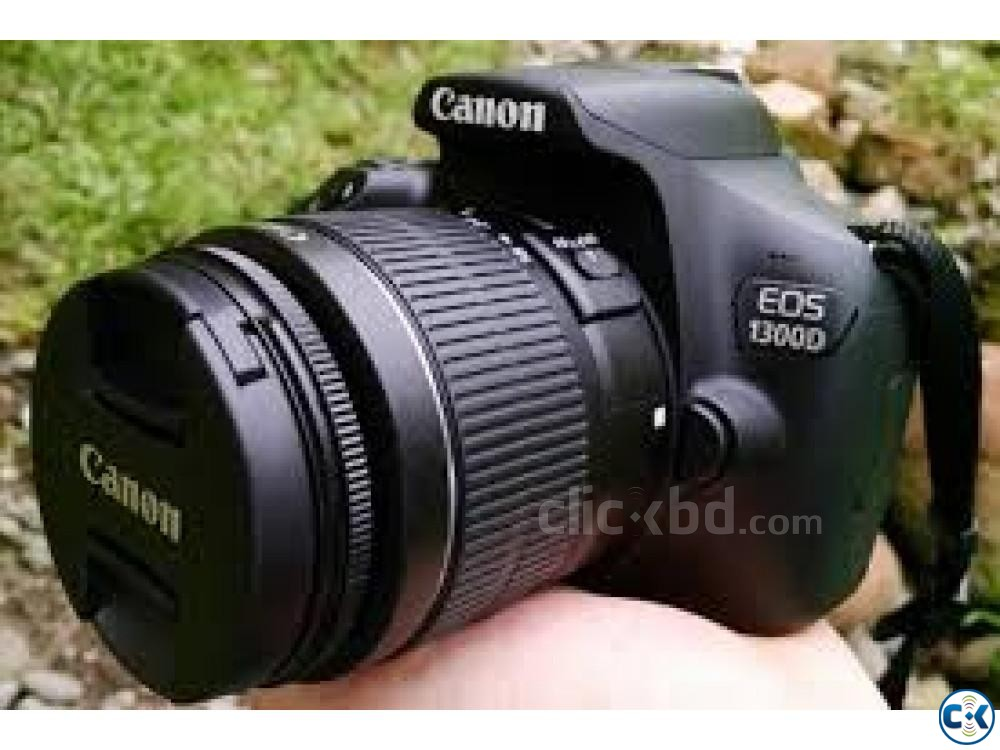 canon 1300d with 18 55mm | ClickBD large image 0