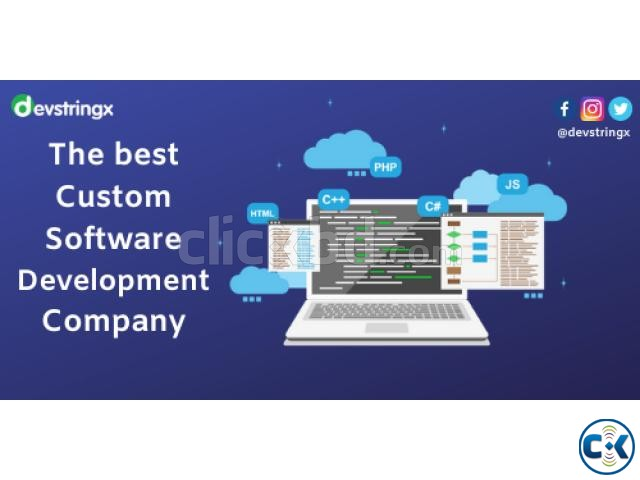 The Best Custom Software Development Company | ClickBD large image 1