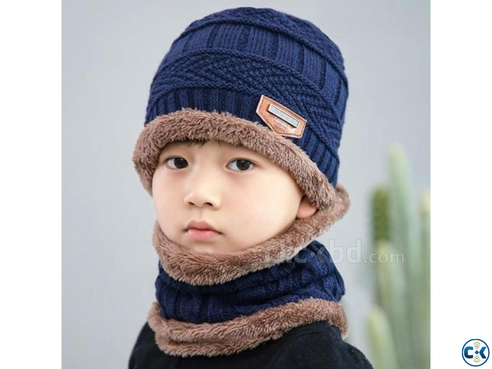 Winter Chines Cap For Kids | ClickBD large image 0