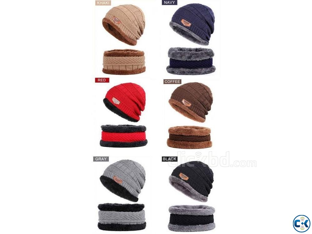 Winter Chines Cap For Kids | ClickBD large image 1