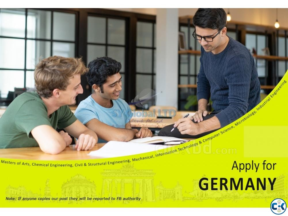 Study in Germany | ClickBD large image 0