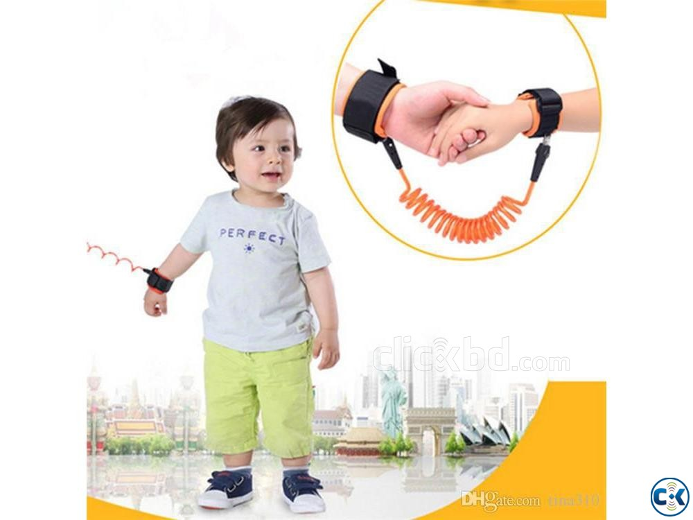 Child Safety Anti Lost Wrist Strap Kids Safety Anti Lost W | ClickBD large image 1