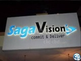 Signboard Office Showroom Branding Frosted Glass paper.