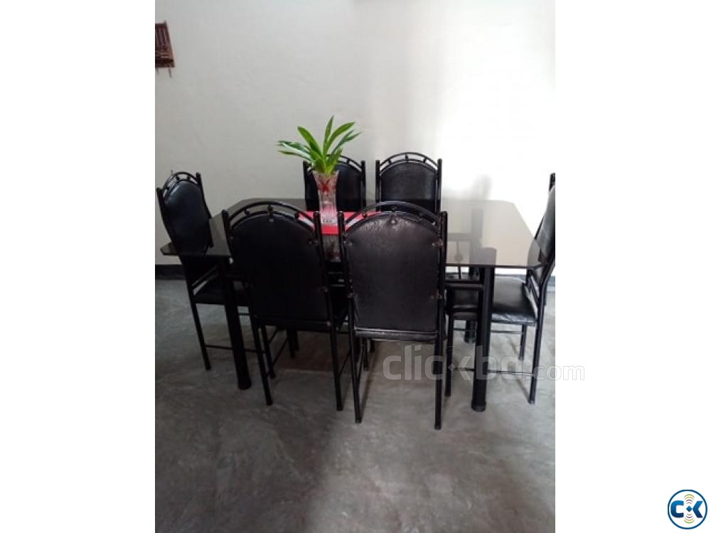 6 Seater Dining Table | ClickBD large image 0