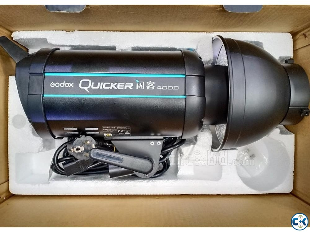 Godox Quicker 400D Professional Studio Strobe Light USED | ClickBD large image 3