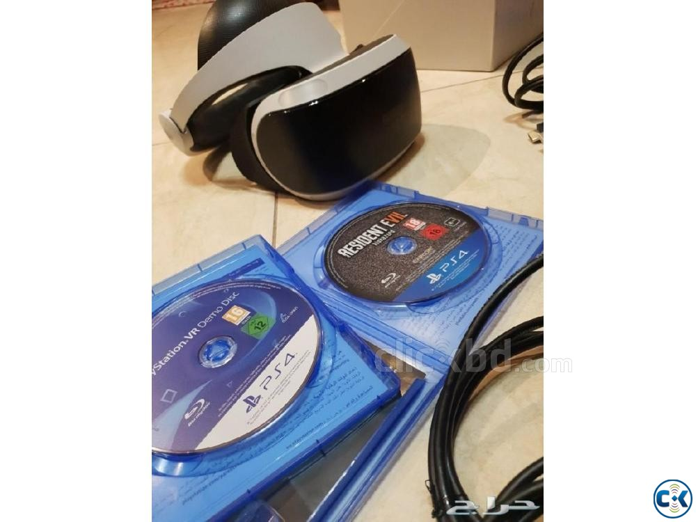 Sony PS VR Gear with 3D Audio and some VR Title | ClickBD large image 0